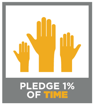 Pledge 1% of Time